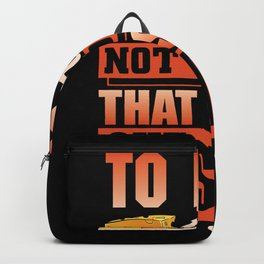 To brie or not to brie that is the question Backpack