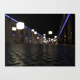 Winterthur at night Canvas Print