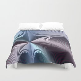Warping towards a black hole Duvet Cover