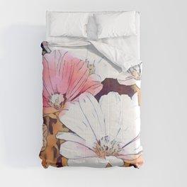 Basking in Sunlight watercolor Comforters
