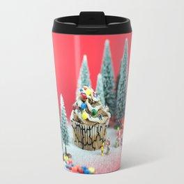 Christmas cupcake Travel Mug