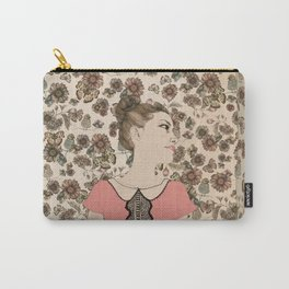 Vintage Girl Carry-All Pouch