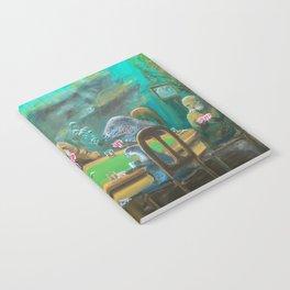 Pinnipeds Playing Poker Notebook