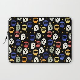 Ghost and Gravestone Halloween Laptop Sleeve