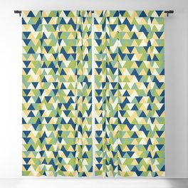 Rockpool Triangles Blackout Curtain