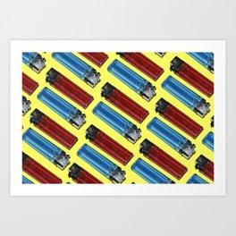 Pop Lighters Art Print