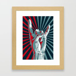 Rock and Roll Framed Art Print