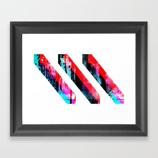 PRISM³ Framed Art Print