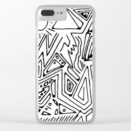 PowerLines 30b Clear iPhone Case