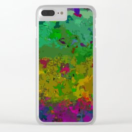 Crackle Clear iPhone Case
