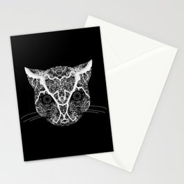 cat tree Stationery Cards