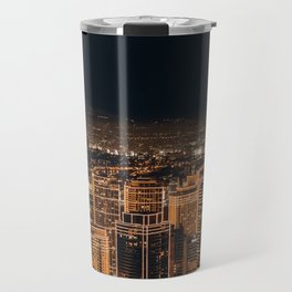 Somewhere in China – City by night Travel Mug