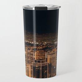 Somewhere in China – City by night Travel Mug