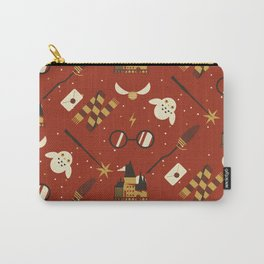 Wizarding Pattern Carry-All Pouch