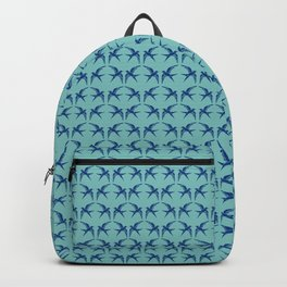 bluebirds of happiness Backpack