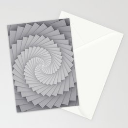 Abstract Spyral Stationery Cards