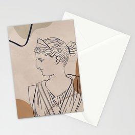 Minimal Art-Greek Goddess Artemis  Stationery Cards