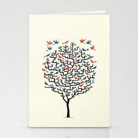 balance Stationery Cards featuring Out On a Lark by Oliver Lake