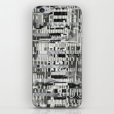 Exploiting Digital Behavior (P/D3 Glitch Collage Studies) iPhone & iPod Skin