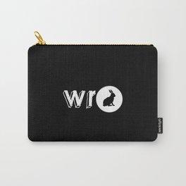 White Rabbit Studio - Logo Carry-All Pouch