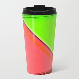 """The life is as a mirror. If you smile to him, she sends back you your image."" Travel Mug"