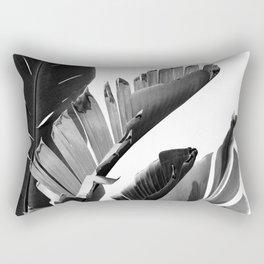 Banana Leaves Finesse #2 #tropical #decor #art #society6 Rectangular Pillow