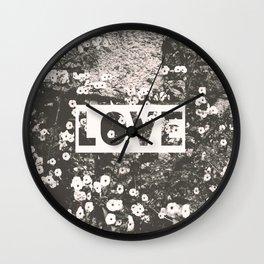 love VII Wall Clock