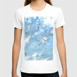The Chasers - Seagulls In Flight T-shirt