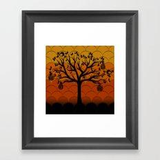 Fruits Talk Framed Art Print
