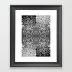 Polarity Framed Art Print