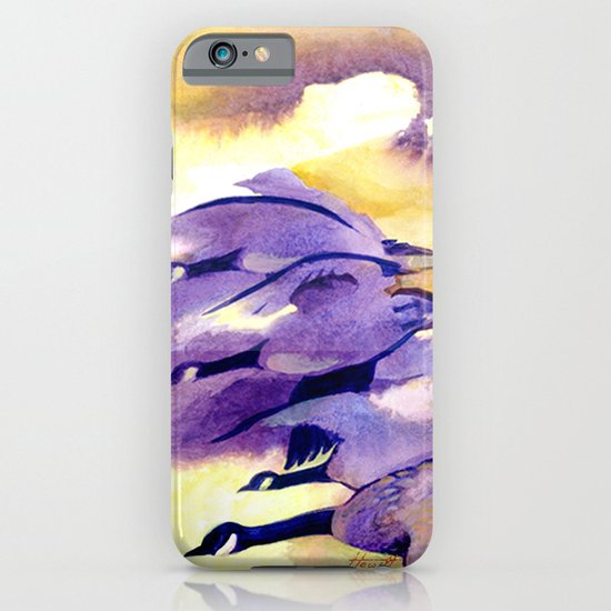 Canada Geese - Westering Home iPhone & iPod Case