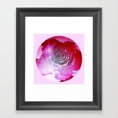 Digital Rose of Cosmos Framed Art Print