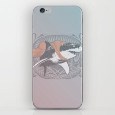 Fearless Creature: Whitey iPhone & iPod Skin