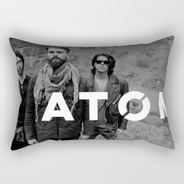 Atom Press Shot Rectangular Pillow