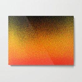 Sunset Dashes Metal Print