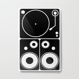 DJ Gear #4 Metal Print