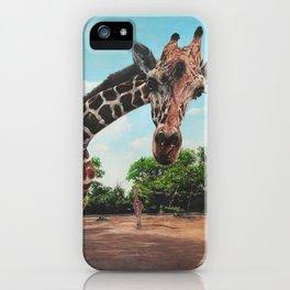 What's Occurring? - Giraffe iPhone Case