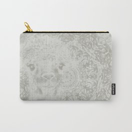Ghostly alpaca and mandala Carry-All Pouch
