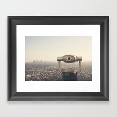 The View: City of Angels Framed Art Print