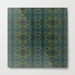 Abstract diamonds Metal Print