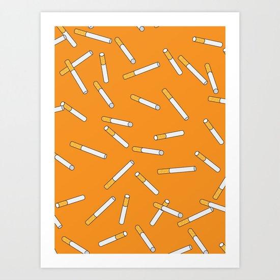 Cigarette Dreams. Art Print
