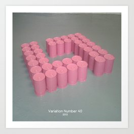Variation Number 40 (photo) Art Print