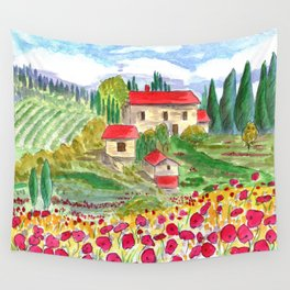 Tuscan Wall Tapestry