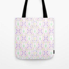 2307 Outlined pattern light ... Tote Bag