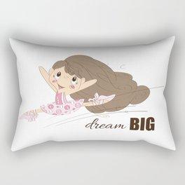 BellaRina - Dream BIG Rectangular Pillow