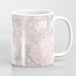 Modern blush pink gray stylish marble Coffee Mug