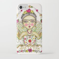 Frida Kahlo Viva la Vida iPhone 7 Slim Case