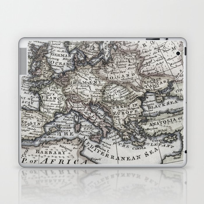Old World Map Laptop & iPad Skin by toddspencer
