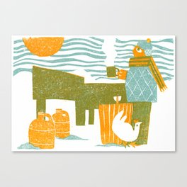 Makin' Maple Canvas Print