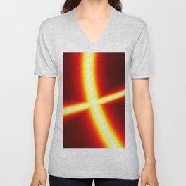 Disco light Unisex V-Neck